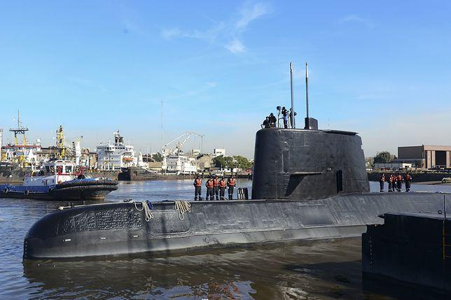 Okręt ARA San Juan miał problemy z łącznością