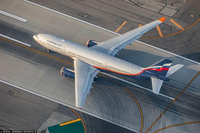 Boeing 777 lądował awaryjnie na lotnisku Moskwa-Szeremietewo