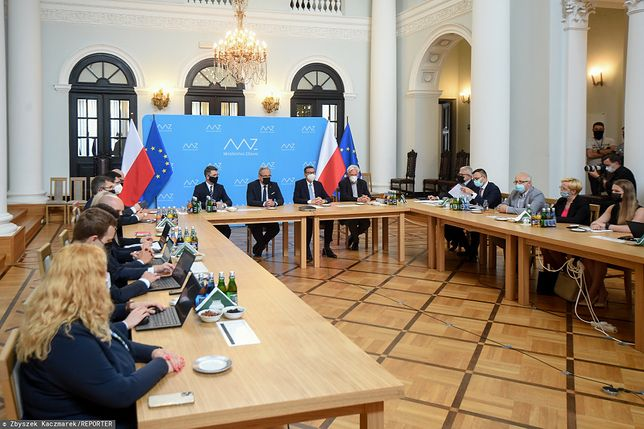 Rada Ministrów o sytuacji epidemicznej.