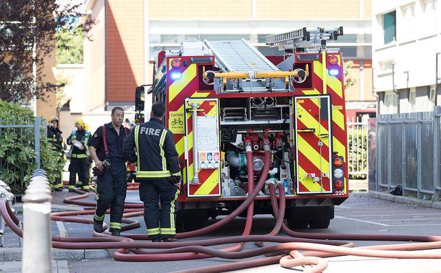 Ogromny pożar w Londynie (zdjęcie ilustracyjne)