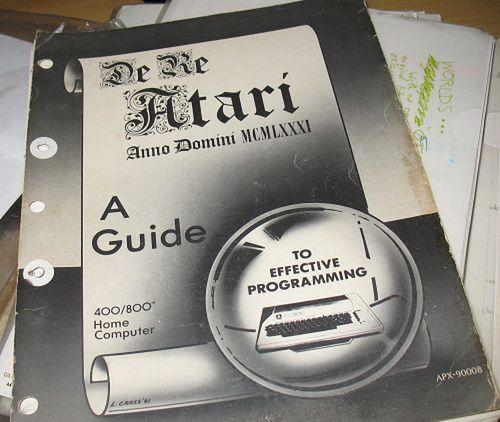 Okładka De Re Atari.