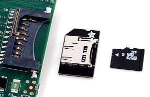 Złącze kart SD