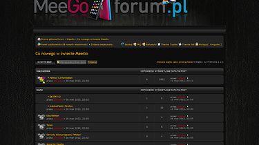 Zapraszam na MeeGoForum.pl