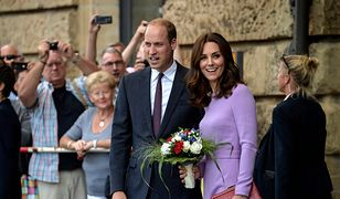 Kate Middleton zachwyciła w lawendowej sukience! Kolejne zdjęcia z wizyty w Niemczech
