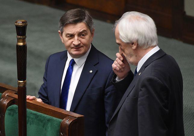 Sondaż. Marek Kuchciński zaskoczył wynikiem