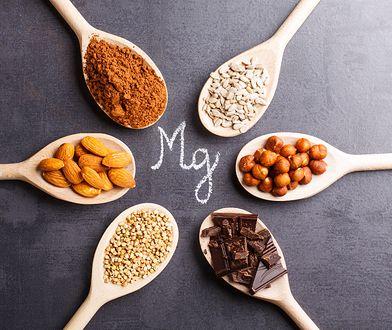 Aby nasz organizm sprawnie funkcjonował, warto włączyć do diety produkty bogate w magnez.