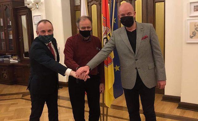 """Wrocław. Jacek Sutryk podziękował Bohdanowi Aniszczykowi. """"Wziął na siebie dużą odpowiedzialność"""""""