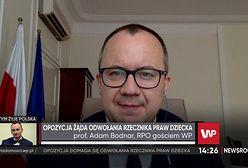 """Prof. Adam Bodnar komentuje kontrowersyjną wypowiedź Mikołaja Pawlaka. """"To świadczy o niezrozumieniu"""""""
