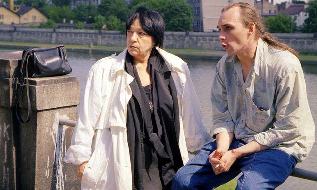 Na zdjęciu Ewa Demarczyk z partnerem Pawłem Rynkiewiczem.