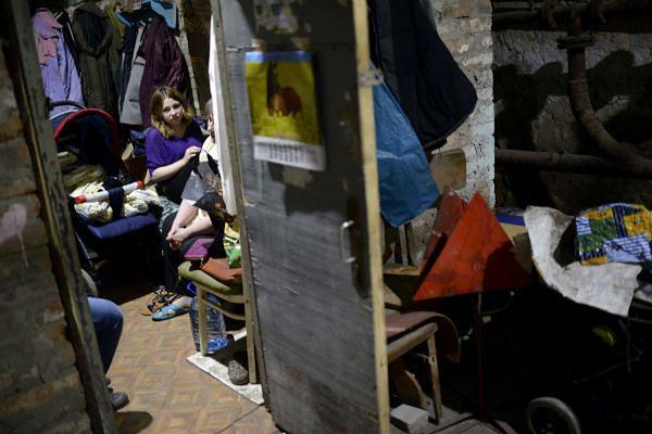 Dramat na Ukrainie. Aż 460 tys. osób musiało opuścić swoje domy