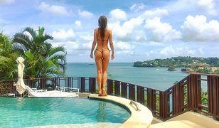 Joanna Krupa topless na rajskich wakacjach. To urodzona kusicielka!