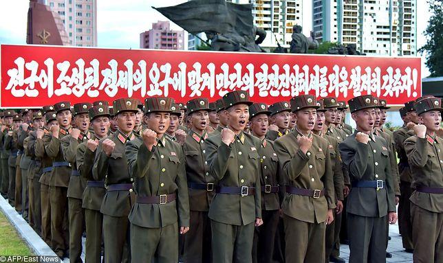 Korea Północna potępia testy rakietowe USA