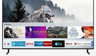 Telewizory Samsung z AirPlay2 i Apple TV