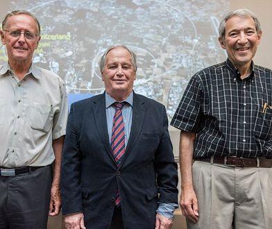Od lewej: Peter van Nieuwenhuizen, Sergio Ferrara i Daniel Freedman, zwycięzcy nagrody Breakthrough, autorzy teorii supergrawitacji.