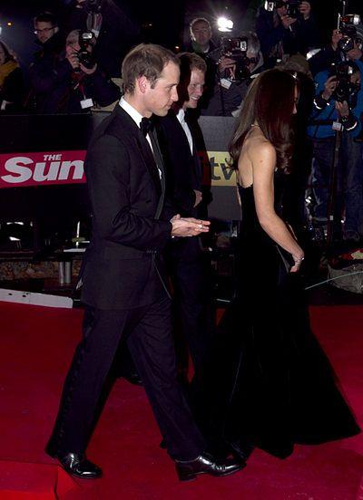 Umięśnione ramiona Kate Middleton