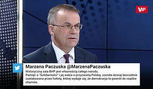 Jarosław Sellin: Lech Wałęsa jest postacią historyczną, ale kontrowersyjną
