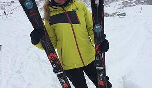 Lidia Kopania – gorące zdjęcia w zimowej scenerii
