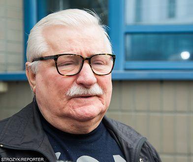 Lech Wałęsa szczęśliwy po udanej operacji wnuczki