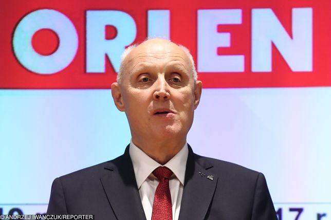 Prezes Orlenu, Wojciech Jasiński to fenomen. Ma małe doświadczenie w biznesie, a osiąga rekordowe wyniki.