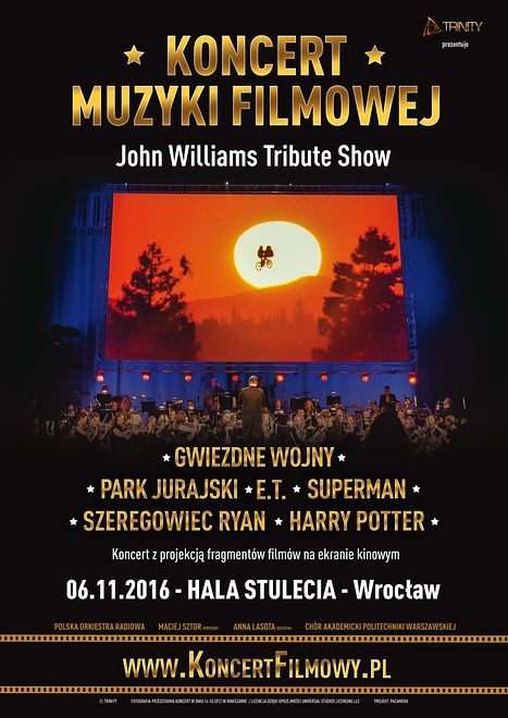Koncert Muzyki Filmowej już 6 listopada we Wrocławiu