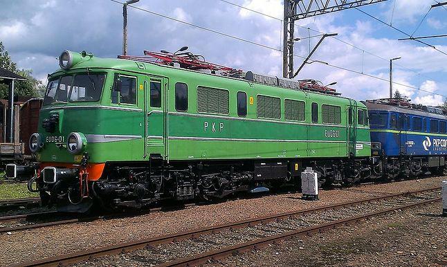 Dobrze nam znana lokomotywa Eu06 to produkt English Electric.
