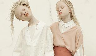 """Brazylijskie albinoski w sesji zdjęciowej dla """"Bazaar Kids"""""""