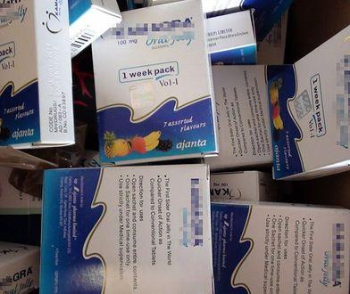 Rozprowadzał fałszywe tabletki na potencję. Policja zatrzymała 23-latka