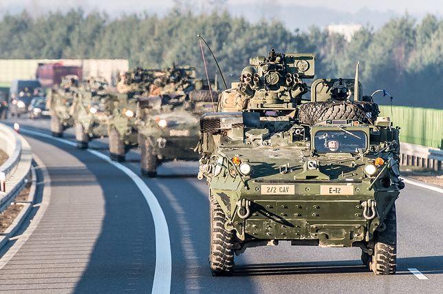 Wypadek Dolnym Śląsku. Poszkodowani to amerykańscy żołnierze