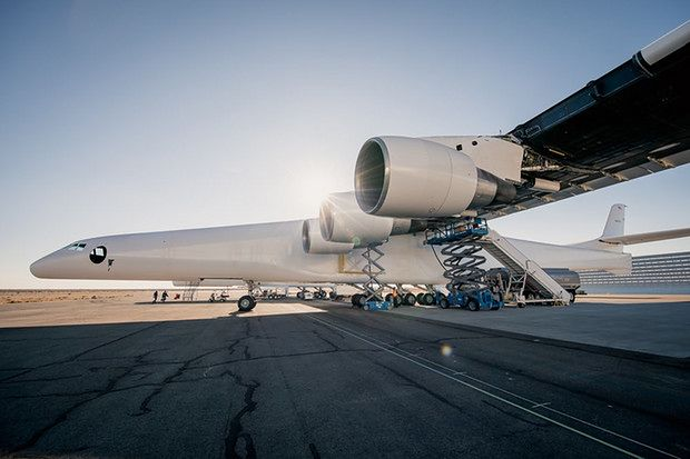 Docelowo Stratolaunch ma być platformą do wynoszenia na znaczną wysokość lekkich rakiet czy satelit