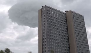 Nietypowe zjawisko na moskiewskim niebie