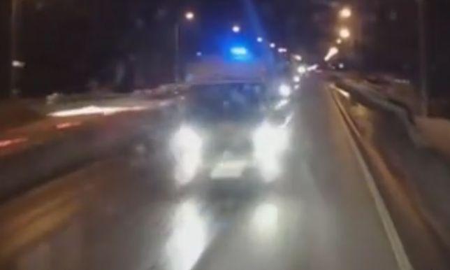 Karambol na drodze krajowej. Wśród rannych są dzieci