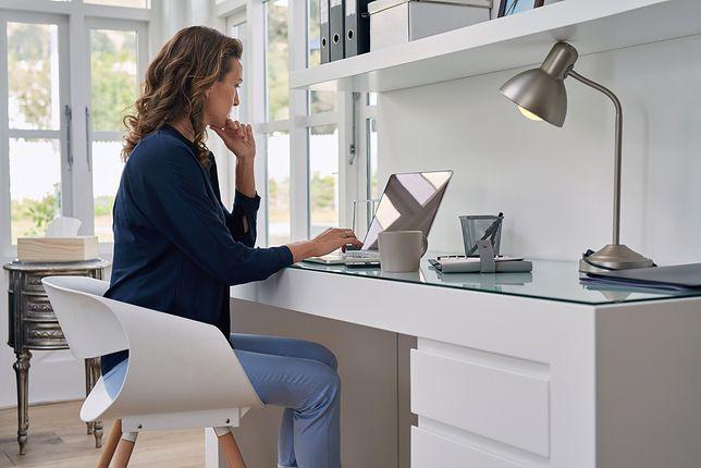 Praca w domowym biurze stanie się przyjemnością, jeśli dobrze je zaopatrzysz