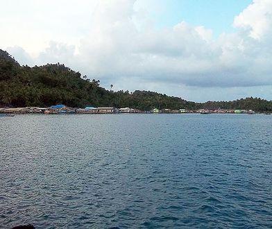 Zatoka Serasan w archipelagu Wysp Natuna.