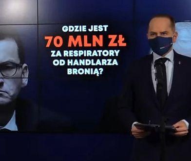 Jarosław Kaczyński nie widzi nadużyć. Posłowie Szczerba i Joński pokazują dowody