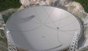 Chiny będą szukać obcych. Kończą budowę największego teleskopu na świecie