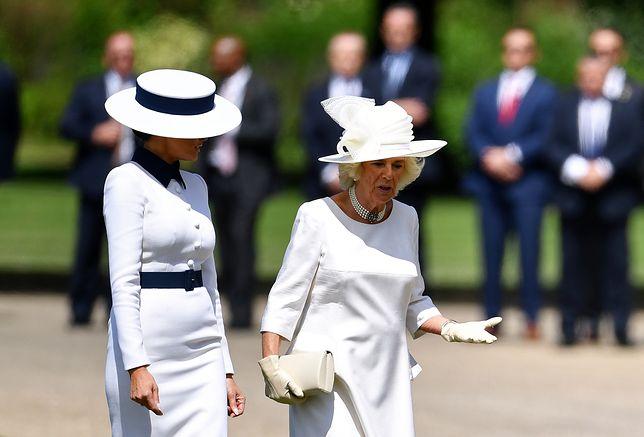 Melania Trump i księżna Camilla