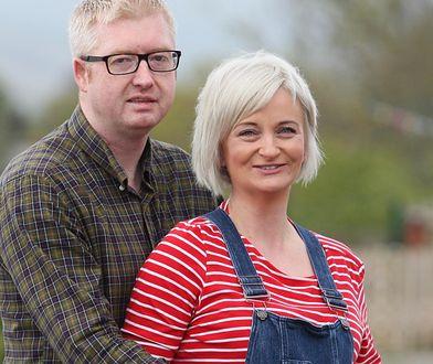 Alexis Brett z mężem Davidem