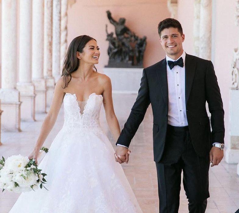 """""""Mój mąż by wyszedł"""". Kobieta zrobiła mężowi niespodziankę na weselu"""