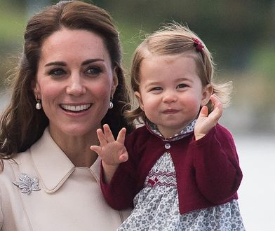 Słodka księżniczka Charlotte idzie do szkoły. Ależ ona wyrosła!