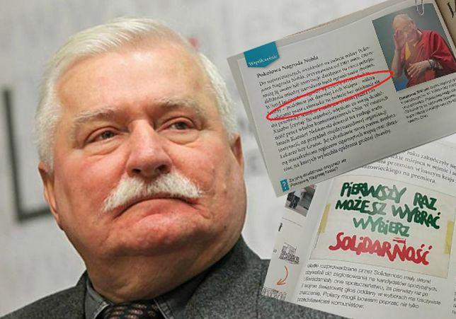 """Tak przedstawiono Lecha Wałęsę w podręczniku dla szóstoklasistów. """"Sami wybrali, kto jest bohaterem"""""""
