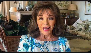 Joan Collins wrzuca zdjęcie. Internauci zwracają uwagę na jej nogi…