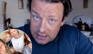 """Jamie Oliver podjął wyzwanie """"Jak to się zaczęło, jak leci"""" i podzielił się przezabawnym zdjęciem z żoną Jools"""