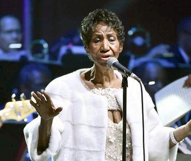 Aretha Franklin na ostatnim koncercie w listopadzie 2017 r.