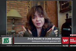 """Katarzyna Grochola o życiu pisarki: """"Pandemia uwolniła mnie od ocen"""""""