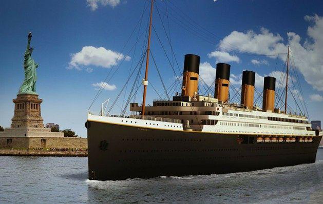 Chińczycy budują Titanica