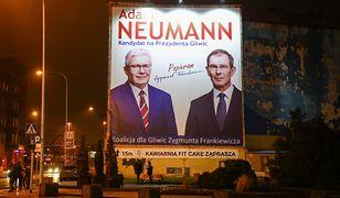Adam Neumann uzyskał poparcie wieloletniego prezydenta Gliwic Zygmunta Frankiewicza