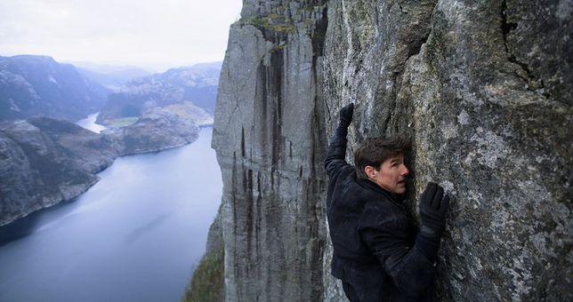 Tom Cruise na norweskim klifie