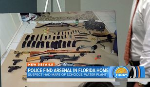 Nieznane są motywy, jakimi kierował się 24-latek gromadząc broń