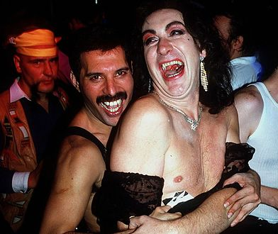 Przyjęcie urodzinowe Freddiego Mercury'ego, 1985 r.