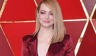 Emma Stone złamała dress code na Oscarach. Jej stylizacja powaliła na kolana